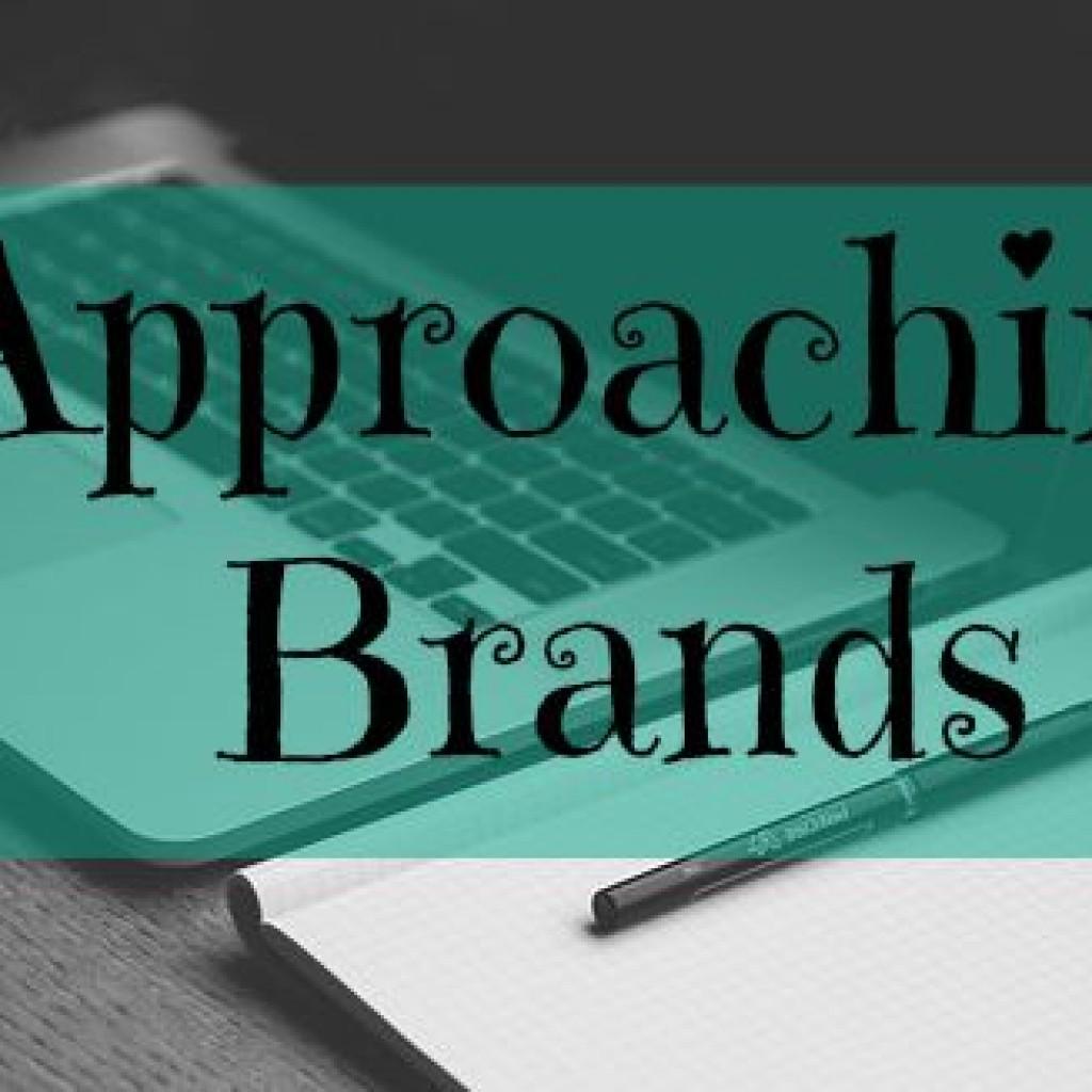 #blogstorm;  Approaching Brands