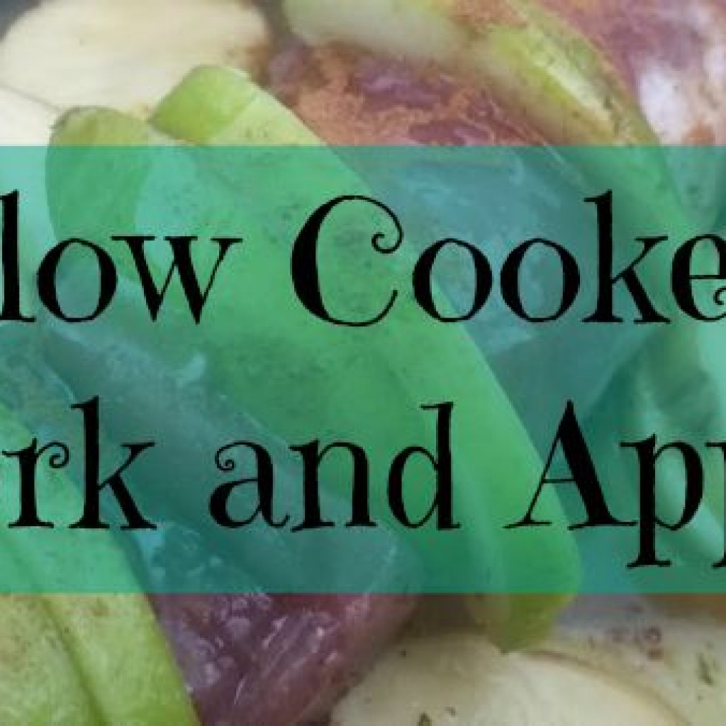 Food for Thought; Slow Cooked Pork and Apple