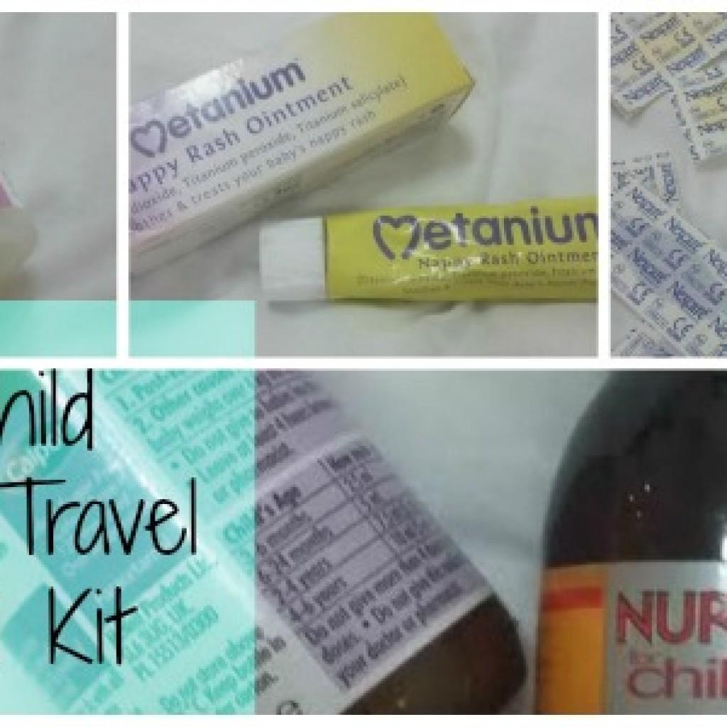 Travel; My Child Friendly Medical Kit