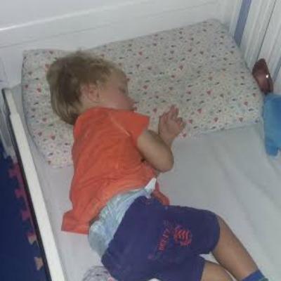 asleep toddler
