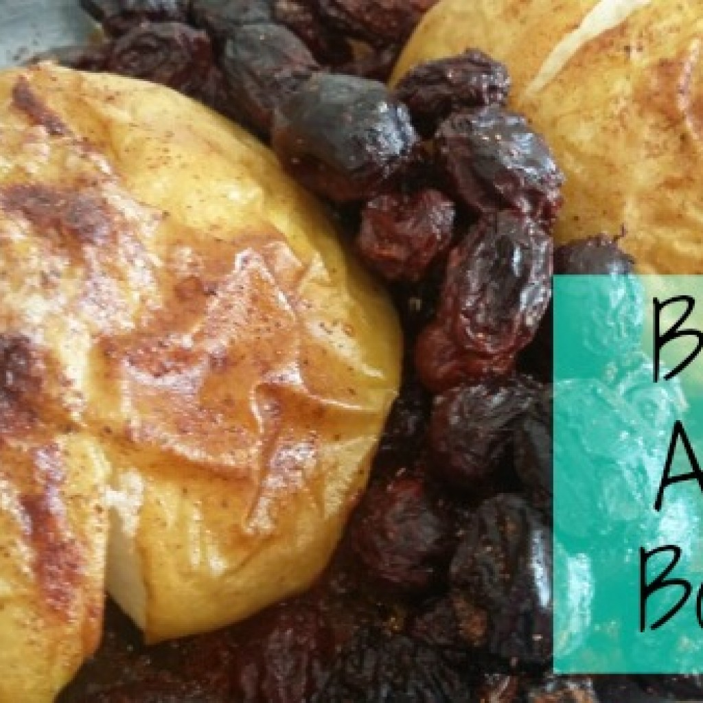 Food for Thought; Baked Apple Bombs