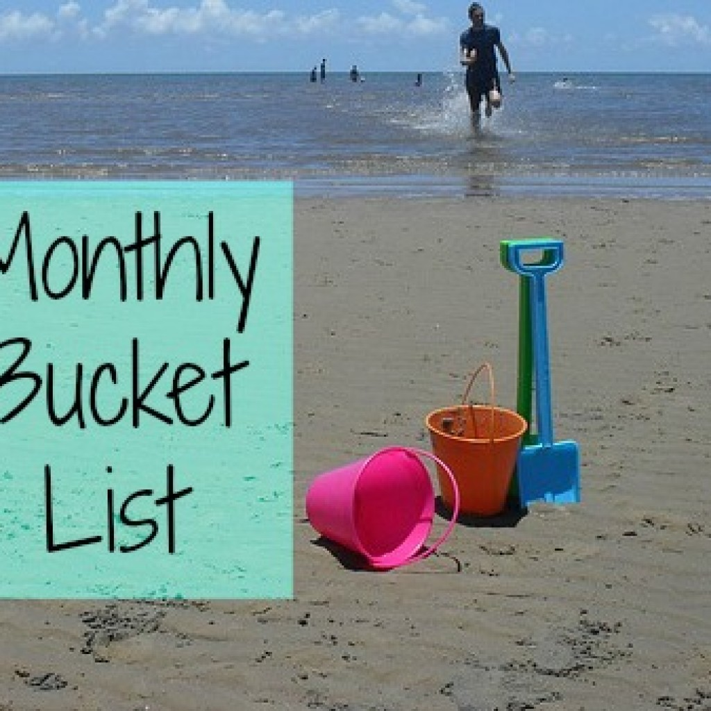 My Monthly Bucket List – November