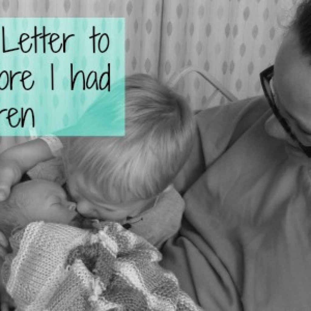 A Christmas Letter to Myself Before I Had Children