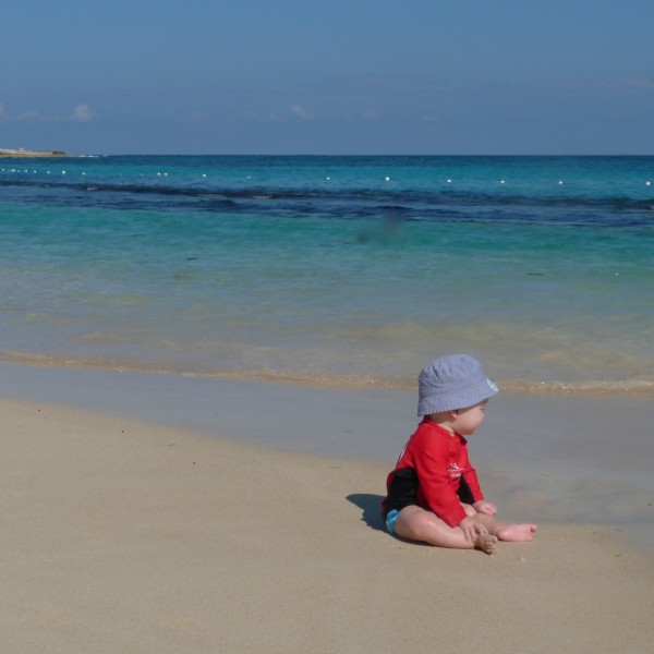 jamaica beach baby