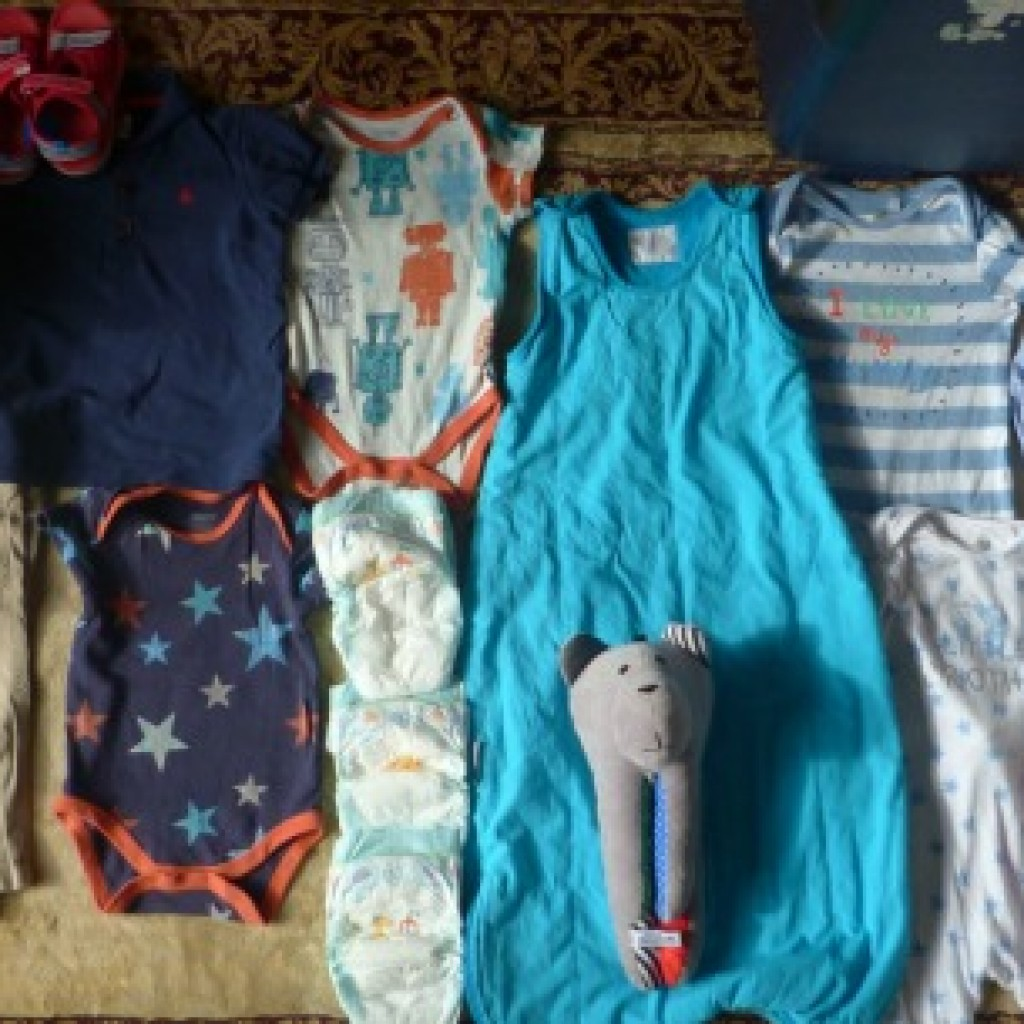 Space in the Case; Packing for Cruising with Children