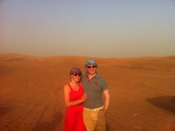 Desert Safari with the husband