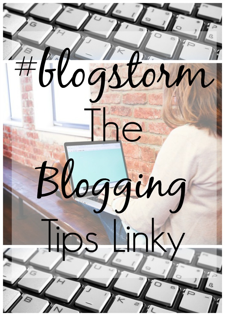 blogstorm the blogging tips linky party pin