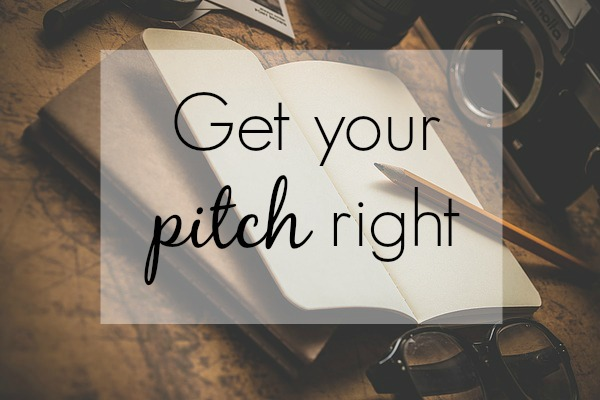 get your pitch right