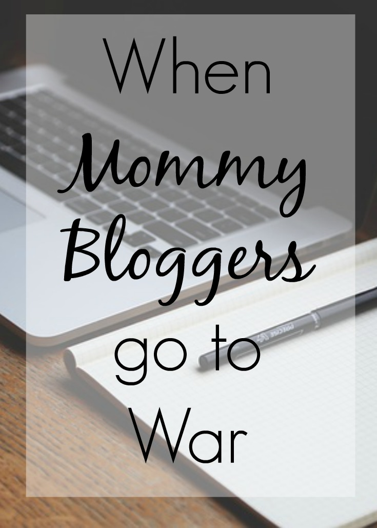 When Mommy Bloggers go to war