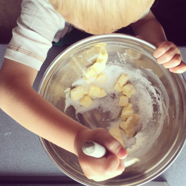 Busy Bakers Box Review Simple Butter Cookies for Fathers Day - Cooking with Kids