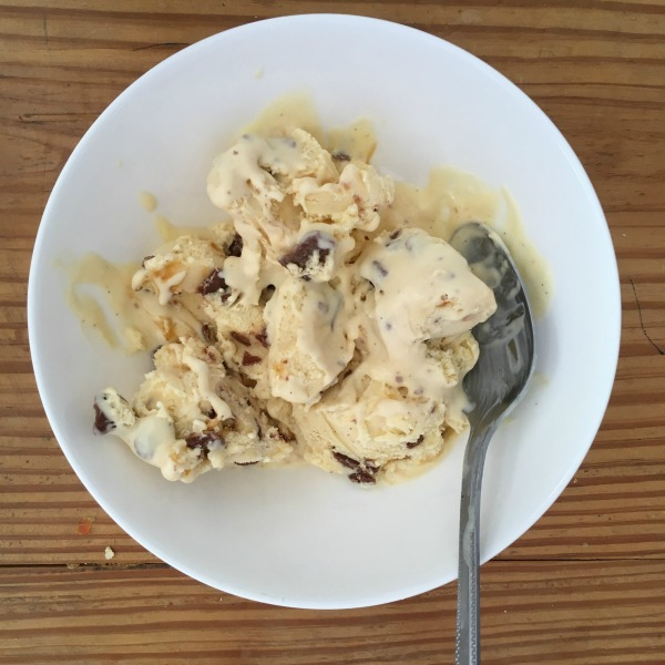 Cooking with Kids: Homemade Crunchie Ice Cream