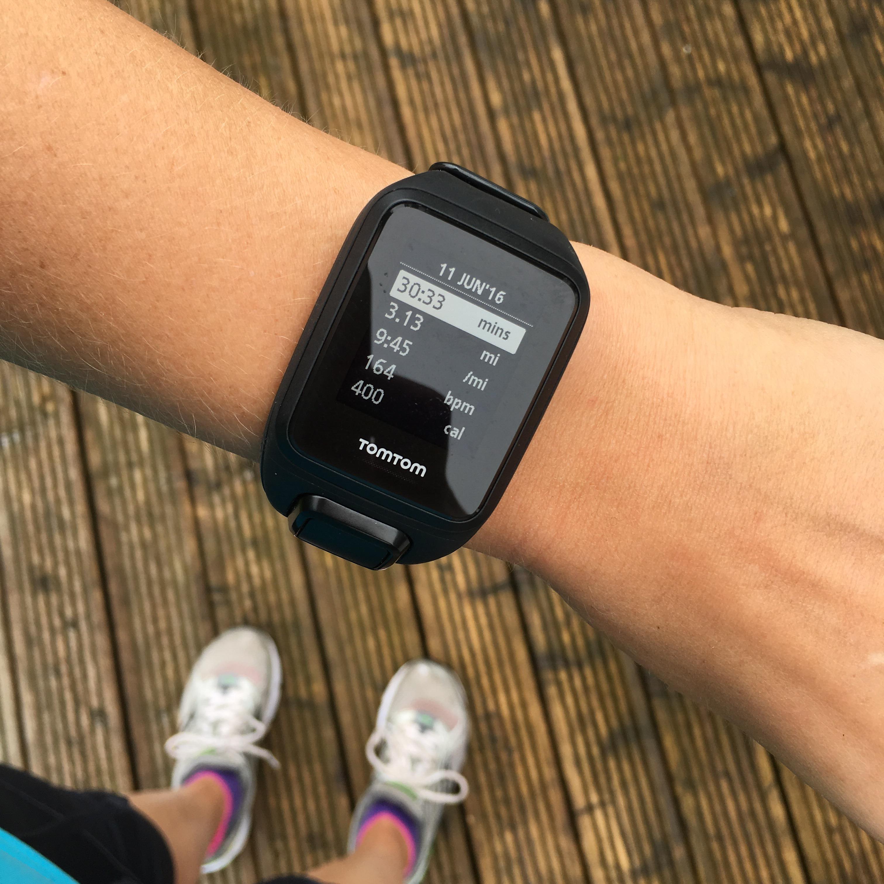 TomTom Spark Cardio Park Run