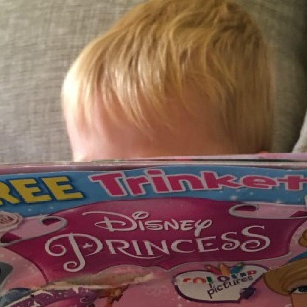 To the man who asked my  3 year old son why he was buying a girls magazine
