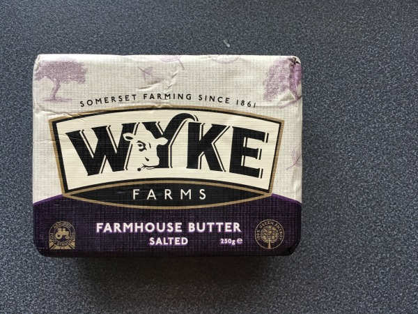 wykes salted butter for chocolate banana bread
