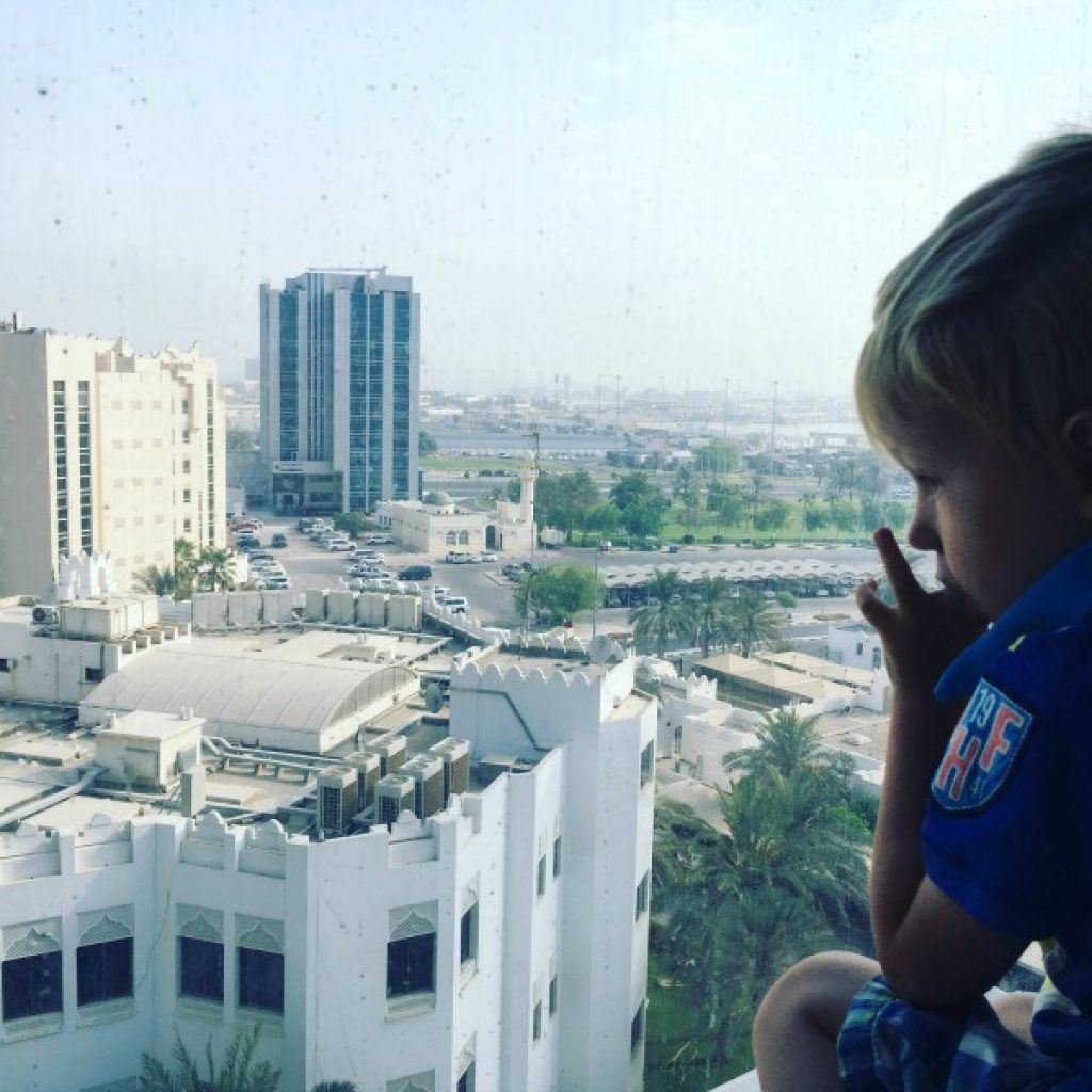 The first days of our new life in Qatar