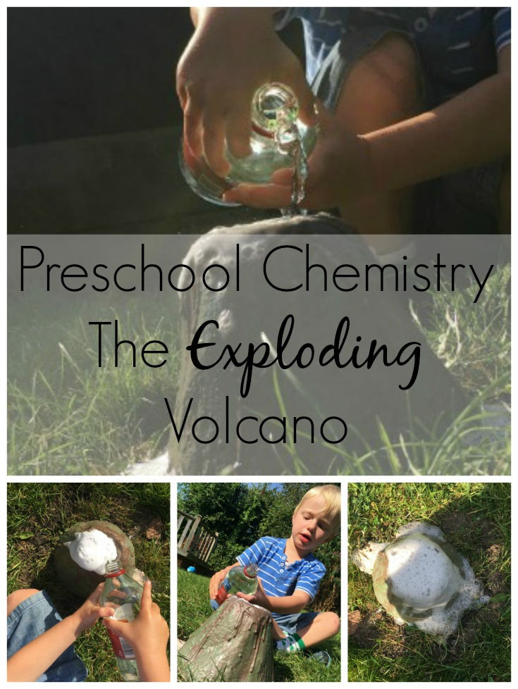 Preschool Chemistry The Exploding Volcano
