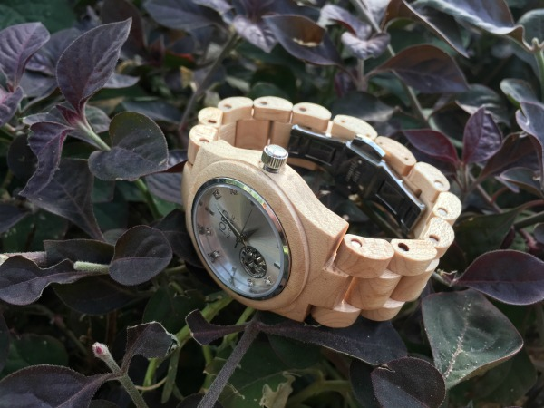 Cora Maple and Silver Jord Wood Watches #jordwatch