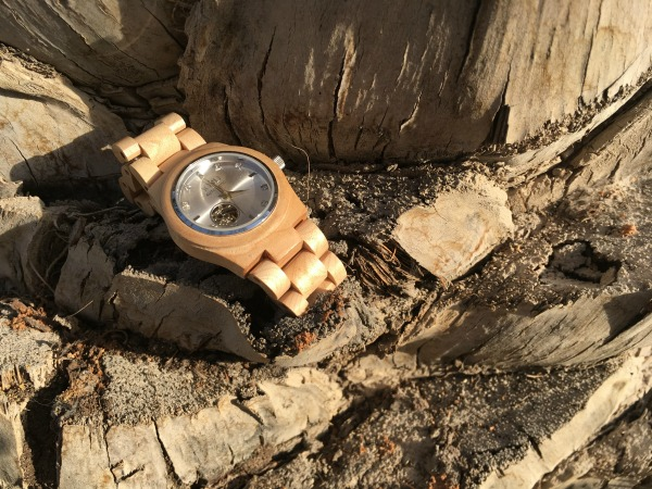 Jord Watch, Maple and Silver Cora, #jordwatch