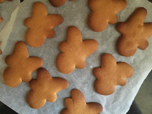 Reindeer gingerbread recipe cookies