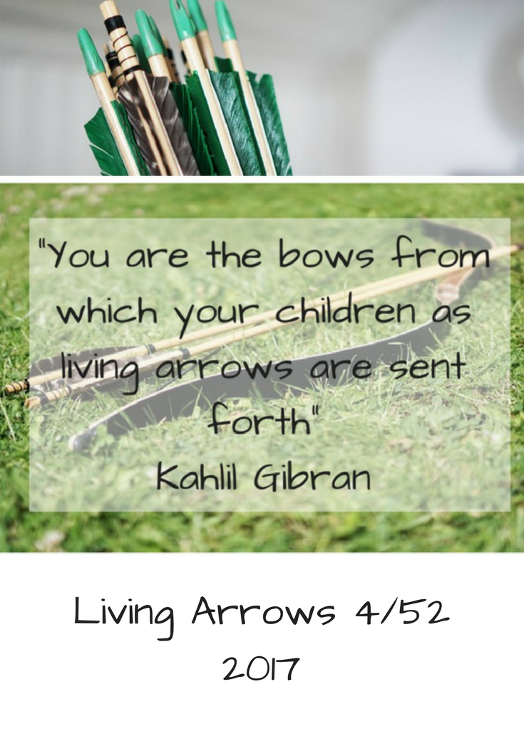 Living Arrows 4/52 2017 Life with Baby Kicks