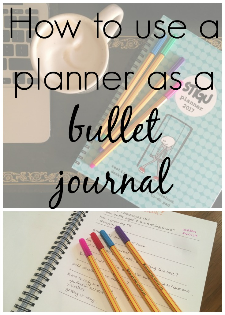How I used my stigu planner as a bullet journal. Using a planner has helped me on my bullet journal journey, giving me the artistic flair and uniformity I craved without having to do it myself. My Stigu planner is the bullet journal for those who are less creative and artistic than they would like to be!