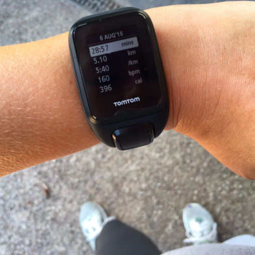 TomTom Cardio Spark - the beginner runner goal a 5km under 30 minutes