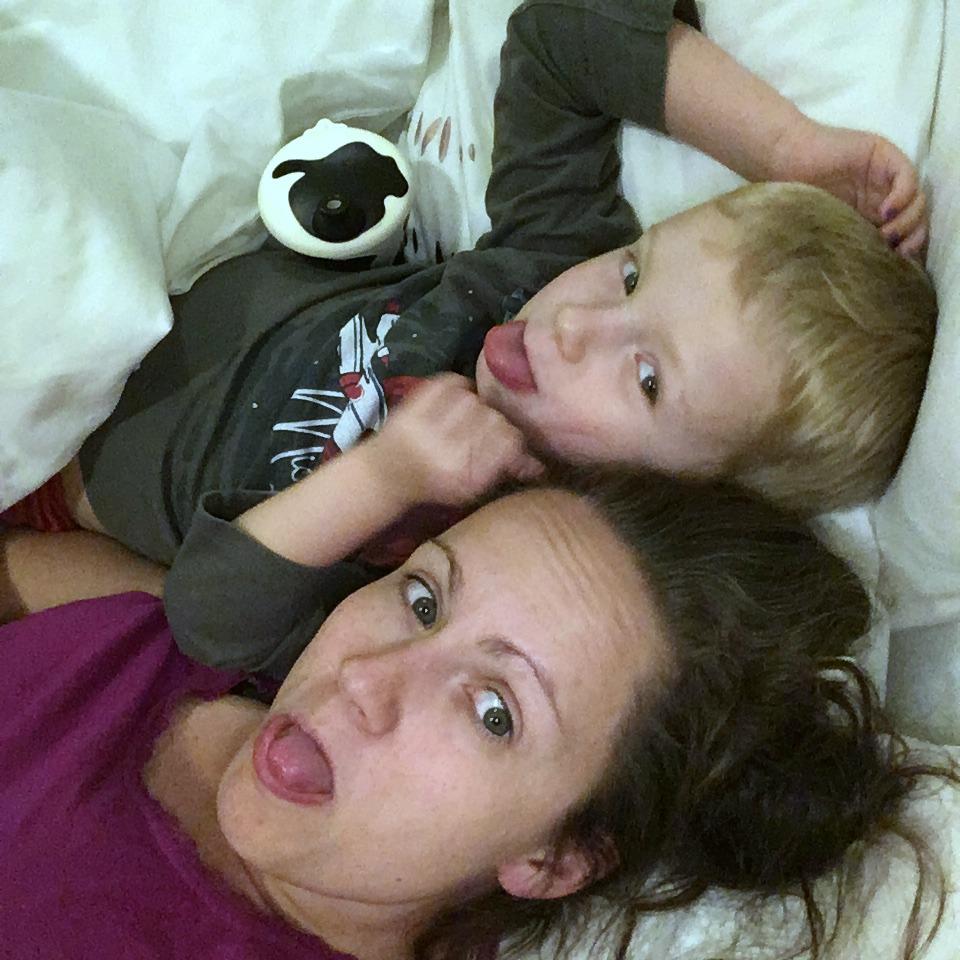 Living Arrows 10/52 Life with Baby Kicks Sleepover