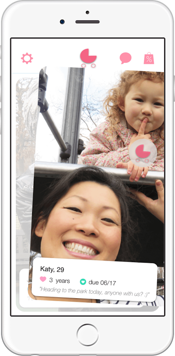 MomziePhone the app for lonely mum to meet other mums