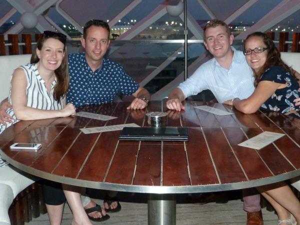 Abu Dhabi brunch with friends