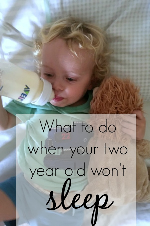 Whenever I used to hear of two year olds not sleeping I used to offer a sympathetic head tilt.  And secretly used to wonder what those parents were doing, what two year old doesn't sleep??  Now, two years later I'm eating my words.  Who has a two year old that doesn't sleep?  I do.