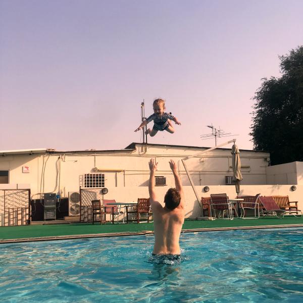 Living Arrows 16/52 swimming fun