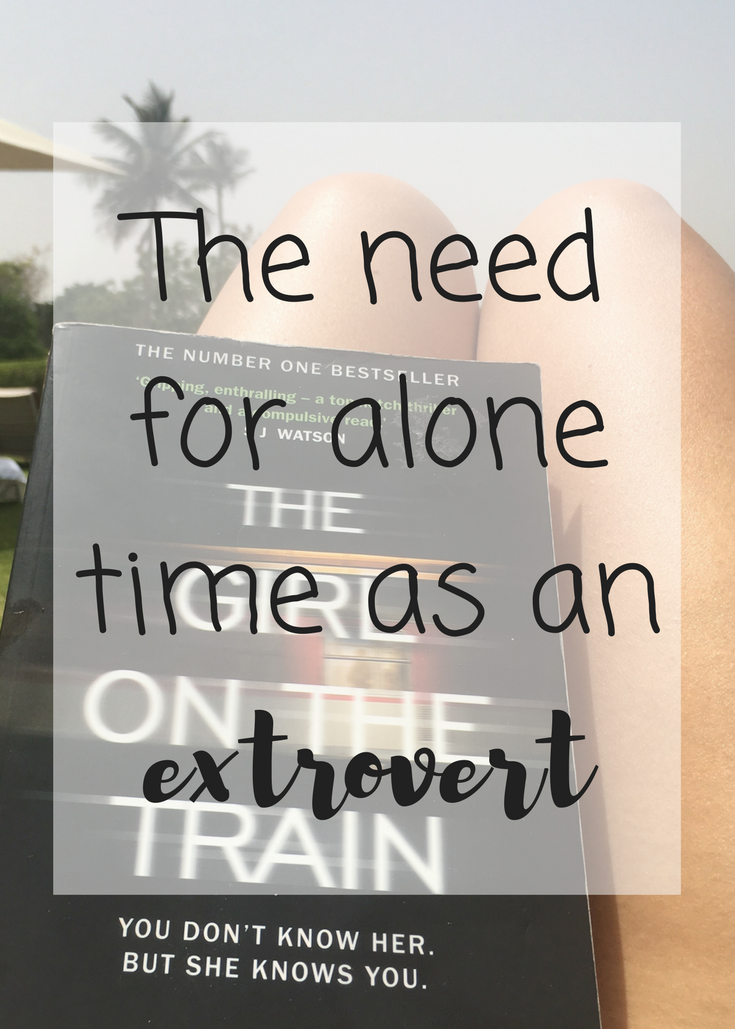 The need for alone time as an extrovert