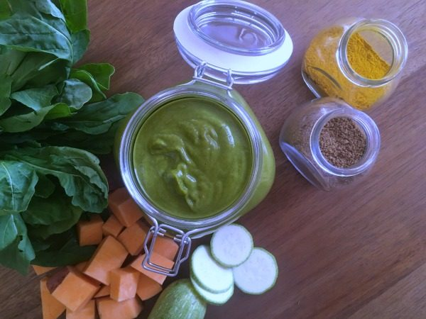 Asian Inspired Spinach Soup