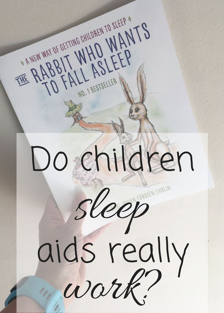 Do children sleep aids really work? I tried out the rabbit who wants to fall asleep on my four year old and two year old, here was our night