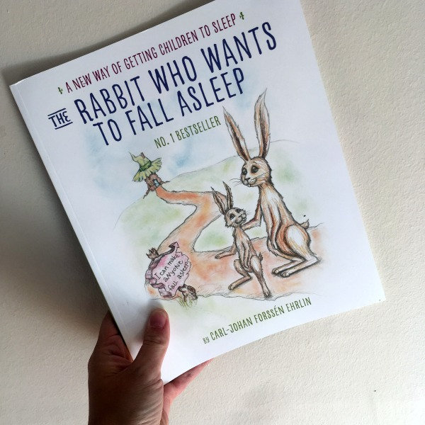 """The night we read """"The Rabbit who wants to fall asleep"""""""