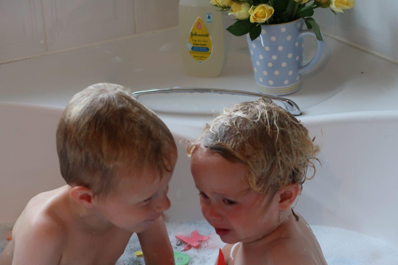 making bath time fun