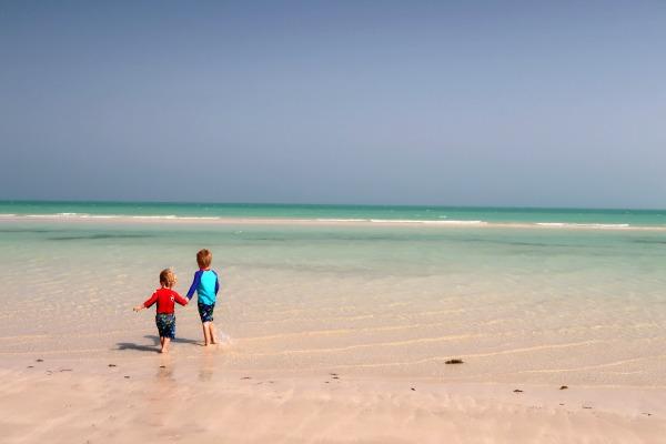 beach qatar