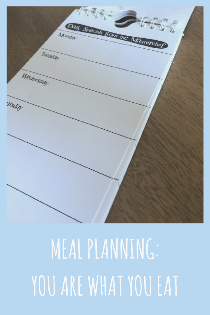 Meal Planning: You are what you eat