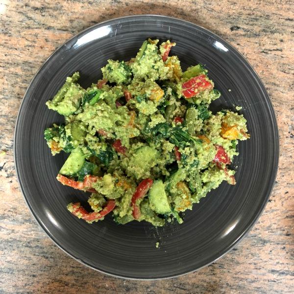 quinoa green goddess meal plan