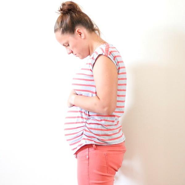 12 weeks pregnant bump