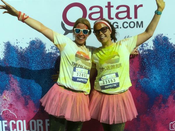 color run qatar