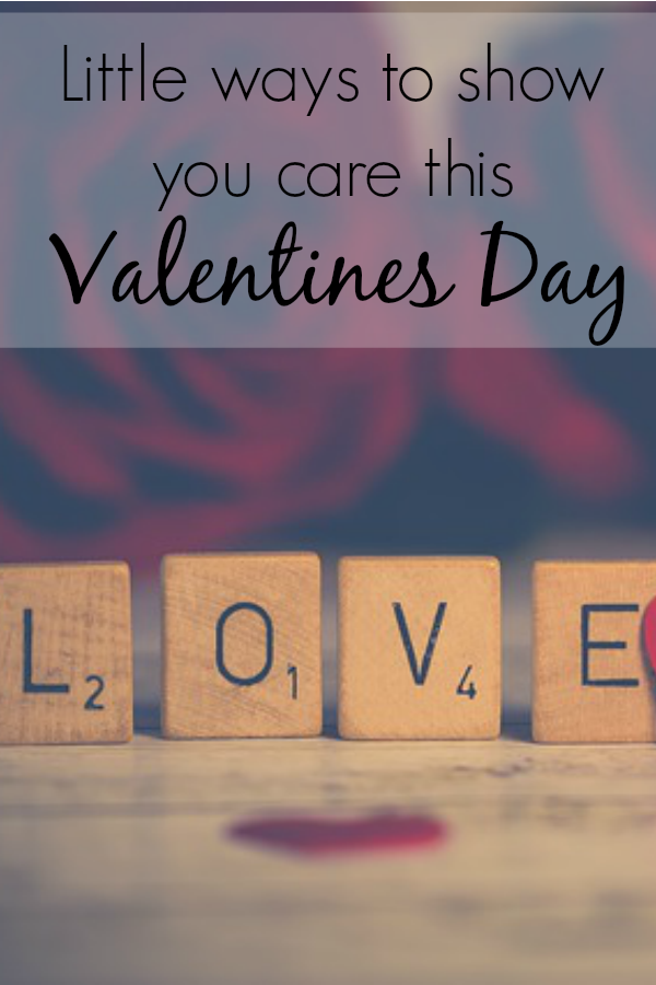 Valentines Day is coming up and it doesn't have to be all about the big gestures.  These are the little ways to show you care this Valentines.  Three simple things you can do to make someones Valentines Special.