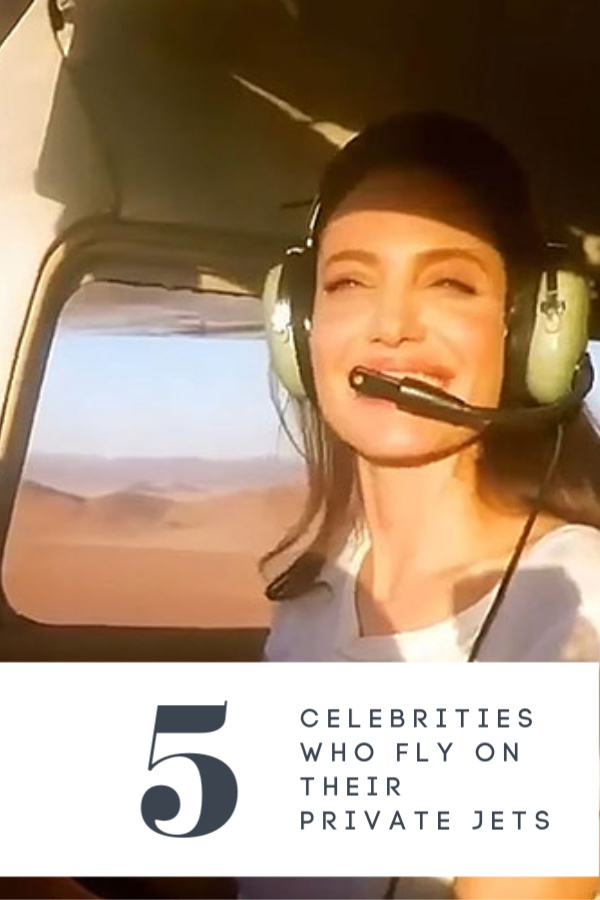 5 Celebrities Who Fly on Their Private Jets