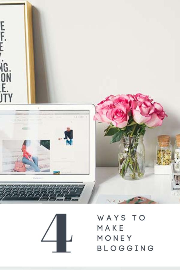 4 ways to make money blogging