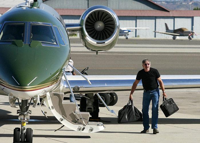 Harrison Ford Celebrity Jet